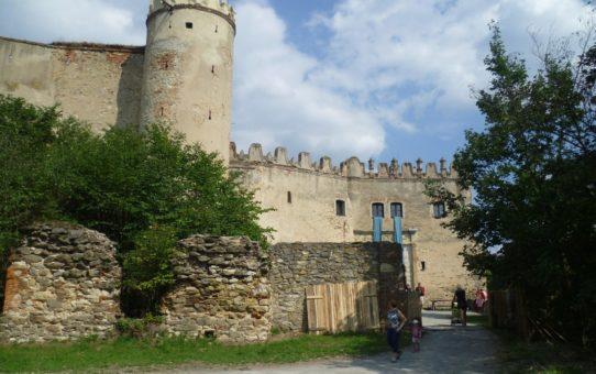 Výlet s kočárkem na hrad v Boskovicích